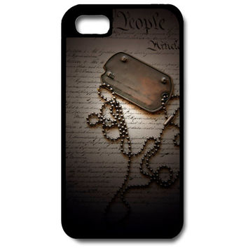 Dog Tag Phone Case, Military Phone Case, iPhone Case, Samsung Galaxy Phone Case, Custom Phone Case