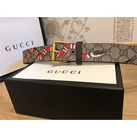 NEW GUCCI SNAKE BELT AUTH