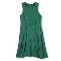 Mossimo® Women's Fit and Flare Dress - Uptown Jade