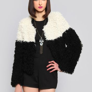 Wild Side Shaggy Jacket