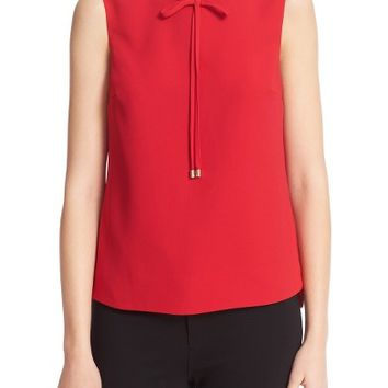 Ted Baker London Natalle Bow Detail Crepe Top | Nordstrom