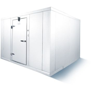 Commercial Kitchen Walk-In Box Cooler 6' x 8' No Floor Box Only