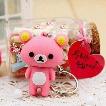 4GB New Cute Pink Rilakkuma Bear Style USB flash drive