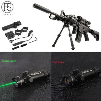 Green Red Dot Laser Sight Tactical Laser Aluminum Rifle Scope Shooting Hunting Airsoft Air Guns Laser Sight Riflescope Handgun
