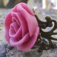 Whirl Of A Girl  Another Gorgeous Salmon Rose Ring