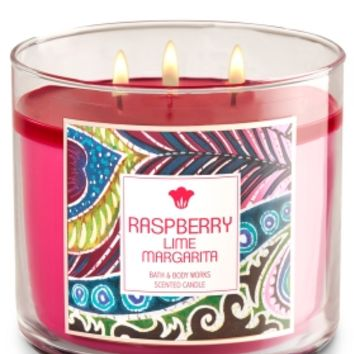 3-Wick Candle Raspberry Lime Margarita