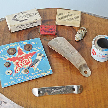 Collection Of Curios, Advertisement Items, Vintage Advertising