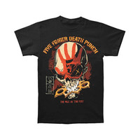Five Finger Death Punch Men's  The Way T-shirt Black Rockabilia