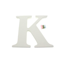 """Babies""""R""""Us K Wooden Personalizable Letter Wall Decor"""