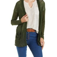 Hacci Cardigan Sweater by Charlotte Russe