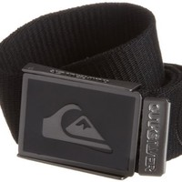 Quiksilver Men's Staple Belt, Black, One Size