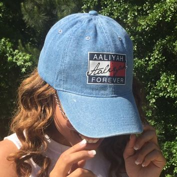 Distressed Aaliyah Cap