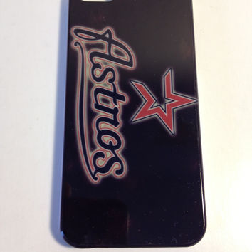 Houston Astros hard back phone cover for the Iphone 5 5s
