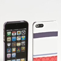 COACH 'Painted Signature' iPhone 5 Case | Nordstrom