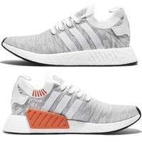 Adidas NMD R2 Primeknit Men's Shoes Sneakers BY9410