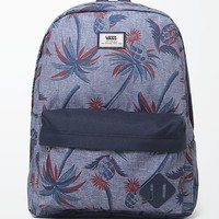 Vans Old Skool II Palm School Backpack - Mens Backpacks - Blue - NOSZ