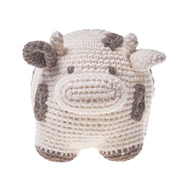 Organic Cotton Cow Toy