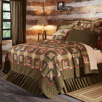 Tea Cabin Twin Quilt