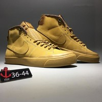 """Nike SB Zoom"" Unisex Sport Fashion Wear-resistant High Help Plate Shoes Couple Casual Sneakers"