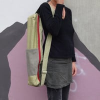 Yoga Mat Bag Pale Green Gray