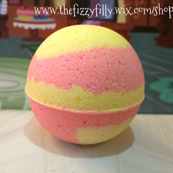 Fluttershy's Lemon Breezy Bath Bomb