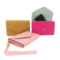 Mobile Phone Wallet Wristlet