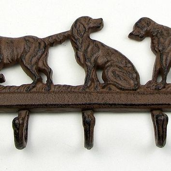 Dog Cast Iron Hook