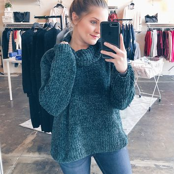 Ready For It Chenille Sweater