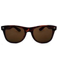 Risky Business Sunglasses In Turtleshell