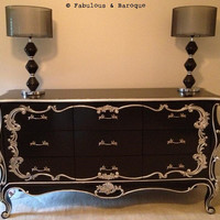 Fabulous and Baroque — Night's Dream Chest of Drawers - Client Photo