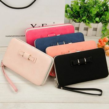 Women Wallets Purses Wallet Female Famous Brand Credit Card Holder Clutch Coin Purse Cellphone Pocket Gifts For Women Money