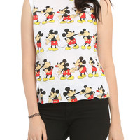 Disney Mickey Mouse Girls Muscle Top