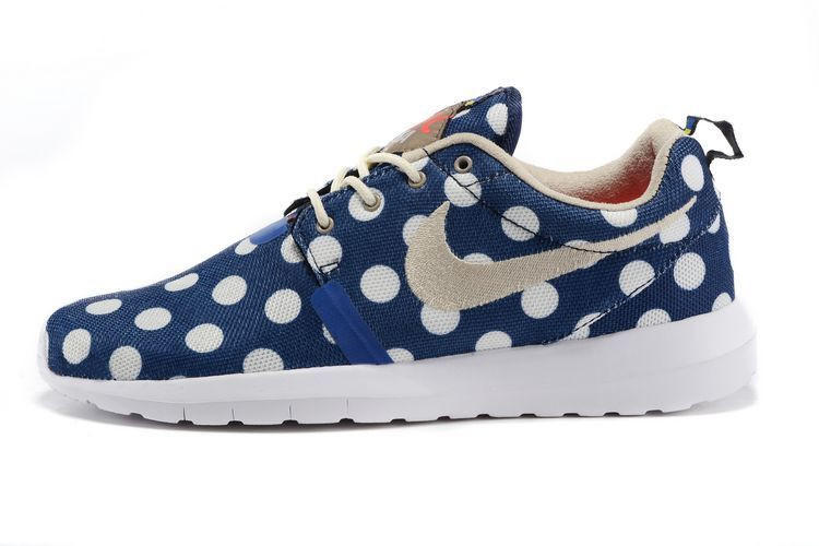 Nike Roshe Run NM City QS (New York City Pack Polka Dot Navy) fce9e1d6e