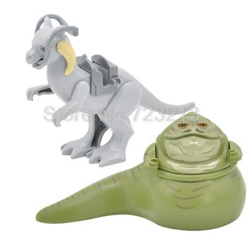 Single Sale Tauntaun Star Wars Figure Jabba Assemble Starwars Building Blocks Kids Education Toys Gifts for children