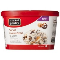Market Pantry Sea Salt Caramel Pretzel Ice Cream 1.5-qt.
