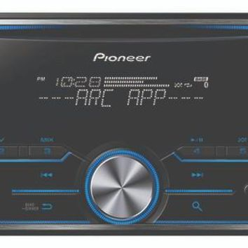 Pioneer's FH-S500BT Double-DIN In-Dash CD Receiver with Bluetooth®