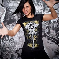 J!NX : World of Warcraft Priest Legendary Class Women's Tee