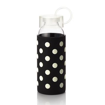kate spade new york Water Bottles - Black and White Polka Dots
