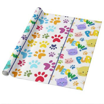 Cats Meow Wrapping Paper