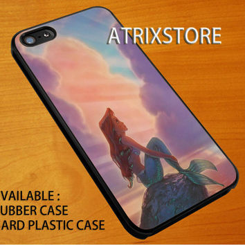 litlle mermaid ariel,Accessories,Case,Cell Phone,iPhone 5/5S/5C,iPhone 4/4S,Samsung Galaxy S3,Samsung Galaxy S4,Rubber,09-07-14-Rk