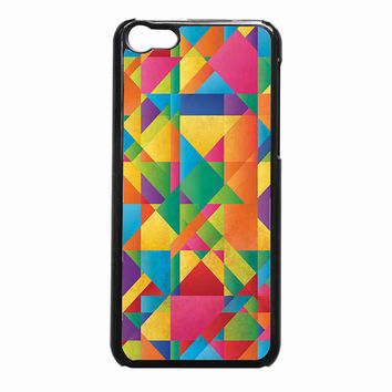 Geometric Abstraction 7cdc8768-d0e5-46c2-ab8b-e31821b1db19 FOR iPhone 5C CASE *NP*