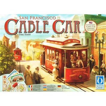San Francisco Cable Car - Tabletop Haven