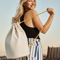 Canvas Drawstring Backpack | Urban Outfitters