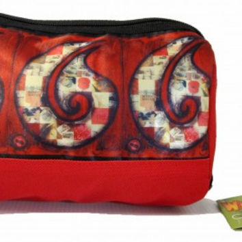 RED HEI MATAU COSMETIC BAG