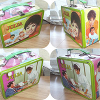 Vintage 60s Julia Lunch Box African American TV Collectible Diahann Carroll Thermos Lunchbox