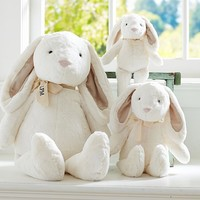 White Bunny Plush Collection