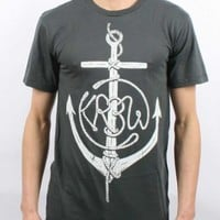 Kr3W - Mens Maritime Premium T-Shirt In Grey