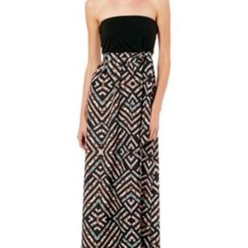LOVE, FIRE Juniors Aztec Print Maxi Dress | Bealls Florida