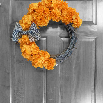 CHRISTMAS IN JULY Holiday Wreath, Fall Wreath, Halloween Wreath, Autumn Wreaths, Fall Wreath, Fall Decor, Front Door Wreaths, Holidays, Harv