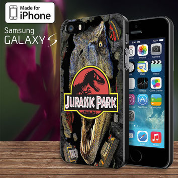 Jurassic Park  For Samsung Galaxy S3 / S4 and IPhone 4 / 4S / 5 / 5S / 5C Case